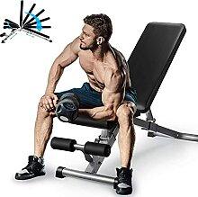 EEUK Banc de Musculation Pliable Multifonctions