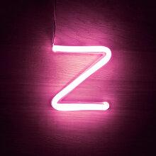 Efectoled - Lettres Néon LED Rose Z Rosa - Z Rosa