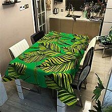 Effet 3D Plante Verte Feuille De Bananier Motif