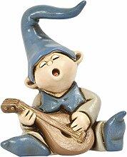 Egan bonbonniere, musizierender Kobold, en