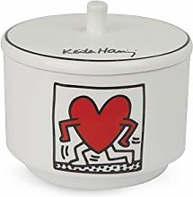 Egan Keith Haring Sucrier avec couvercle