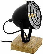EGLO Gatebeck 1 Lampe de Table Industrial Vintage