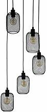 EGLO Wrington Suspension 5 ampoules Vintage