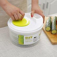 Égouttoir à légumes manuel, séchoir à salade