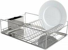 Égouttoir à vaisselle en inox