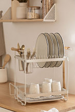 égouttoir à vaisselle Karper Blanc Sklum