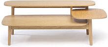 Eichberg - Table basse en bois 3 plateaux