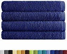 Eiffel Textile Packs Ducha 70x140 cm Bleu Marine