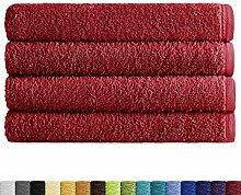 Eiffel Textile Packs Ducha 70x140 cm Bordeaux