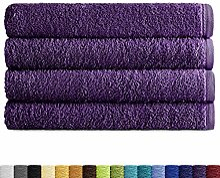 Eiffel Textile Packs Ducha 70x140 cm Viole