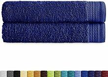 Eiffel Textile Sabana 100x150 cm Bleu Marine