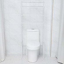 Ejoyous Etagère WC, 3 Niveaux Etagère Lave-Linge