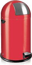 EKO Corbeilles à papier Rouge 33 litres