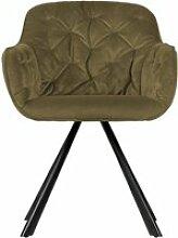 Elaine - fauteuil de table en velours - couleur -