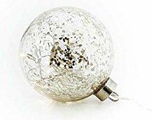 Electrobilsa Boule de Noël LED, Verre