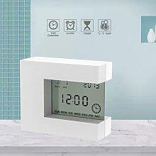 Électronique LCD Carré Calendrier Réveil de
