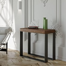 ELETTRA ART table console extensible bois massif