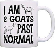 Éleveur de chèvres présent je suis 2 chèvres