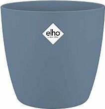 Elho Brussels Rond 14 - Pot De Fleurs - Bleu