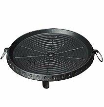 ellaLuna Plaque de barbecue ronde portable style