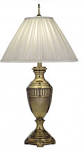 Elstead - Lampe Cincinnati, avec abat-jour perle