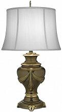 Elstead - Lampe Detroit, avec abat-jour blanc