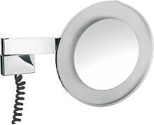 Emco Asis Miroir grossissant rond avec éclairage