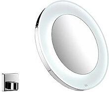 Emco Miroir grossissant rond avec éclairage LED