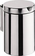 Emco System 2 Poubelle à accrocher 3 litre Inox