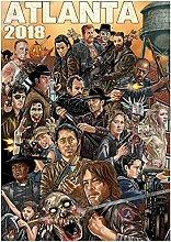 Émission de télévision The Walking Dead affiche