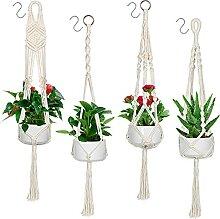 Emooqi Suspension Plante Macramé, Suspension