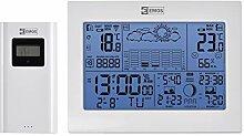 EMOS E8835 Station météo sans Fil avec Horloge