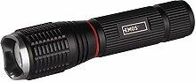 Emos Lampe de poche LED Zoomable en métal avec