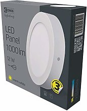 Emos ZM5131 (intérieur Lampe Argent Blanc-Blanc