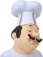Emoshayoga Chef Résine Fonction Décoration