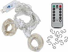 Emoshayoga LED ABS Guirlande Lumineuse décorant
