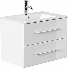 Emotion - Meuble salle de bain Firenze 70 en blanc