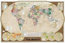 Empire Poster Carte du Monde 317681 Tripel