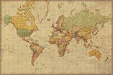 empireposter 747099 Carte du Monde Antique,