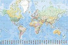 empireposter 747105Pays Cartes–Carte du