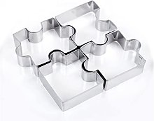 Emporte Piece 3D Puzzle Shape Cookie Cuisson En