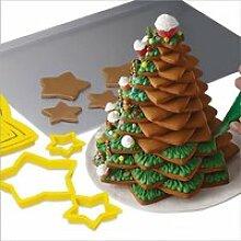 Emporte-pièce de sapin de Noël - emporte-pièces