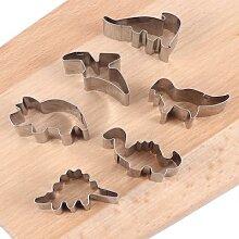 Emporte-pièce en forme de dinosaure, outils de