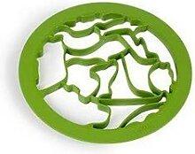 Emporte-pièces forme animaux vert Lekue