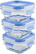 Emsa 515988 Lot de 3 boîtes alimentaires pour