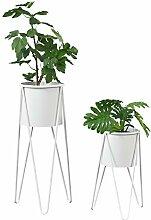 [en.casa] Set de 2 Supports de Plante Cache-Pot