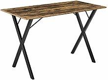 [en.casa] Table Stylée pour 4 Personnes Table