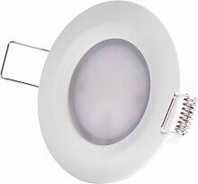 Encastré LED plafonnier lampe ALU salle de bain