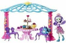 Enchantimals - le salon de thé de mme paon -
