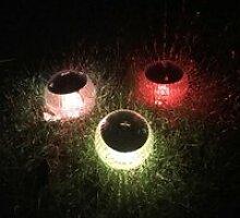 Énergie Solaire Flotter Étang Lumière Flottante